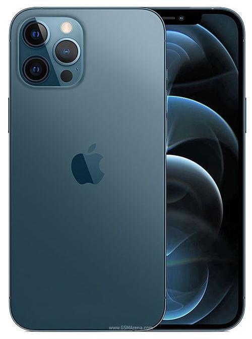 Telefon Mobil Apple iPhone 12 Pro Max, Super Retina XDR OLED 6.7inch, 512GB Flash, Camera Quad 12 + 12 + 12 MP + TOF 3D, Wi-Fi, 5G, iOS (Albastru)