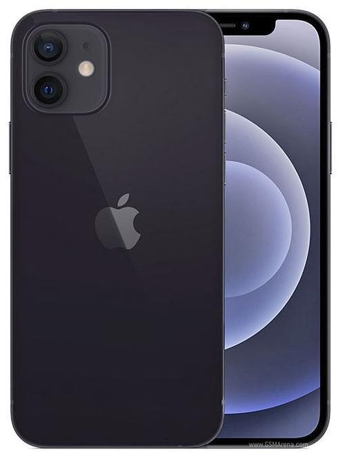 Telefon Mobil Apple iPhone 12, Super Retina XDR OLED 6.1inch, 256GB Flash, Camera Duala 12 + 12 MP, Wi-Fi, 5G, iOS (Negru) imagine