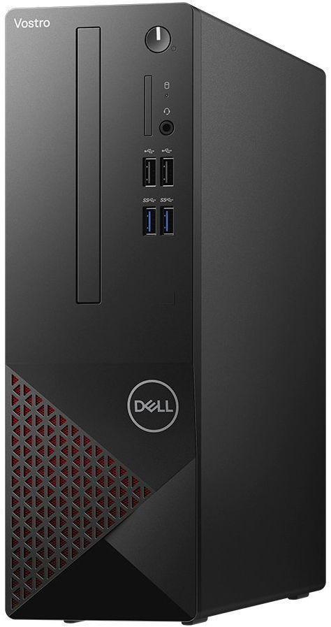 Calculator Sistem PC Dell Vostro 3681 SFF (Procesor Intel® Core™ i3-10100 (6M Cache, up to 4.30 GHz), Comet Lake, 8GB, 256GB SSD, Intel® UHD Graphics 630, Linux, Negru) imagine