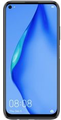 "Telefon Mobil Huawei P40 Lite, Procesor Octa-Core Hisilicon Kirin 810, 2.27Ghz/1.88GHz, LTPS IPS LCD Capacitive touchscreen 6.4"", 6GB RAM, 128GB Flash, Camera Quad 48+8+2+2MP, Wi-Fi, 4G, Dual SIM, Android (Negru)"