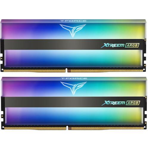 Memorii TeamGroup T-Force XTREEM ARGB 16GB(2x8GB) DDR4 4000MHz CL18 Dual Channel kit