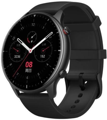 Smartwatch Huami Amazfit GTR 2 Sport, Display AMOLED 1.39inch, Bluetooth, Bratara Silicon 47mm, Android/iOS (Negru) imagine evomag.ro 2021