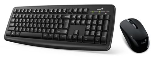 Kit tastatura si mouse Genius Smart KM-8100 Wireless (Negru)