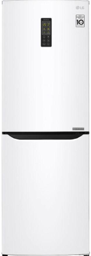 Combina frigorifica LG GA-B379SQUL, 261 l, NoFrost, Smart Inverter, Multi Air Flow, Clasa A+ (Alb)