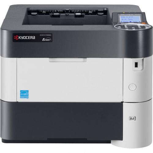 Imprimanta Refurbished Laser Monocrom Kyocera ECOSYS P3060DN, A4, 62 ppm, 1200 x 1200 dpi, Duplex, USB, Retea