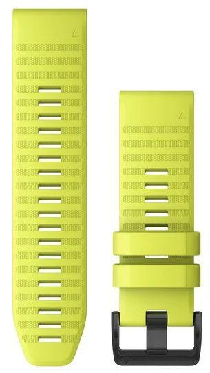 Curea de schimb Garmin 010-12864-04, QuickFit, Silicon, 26 mm (Galben)