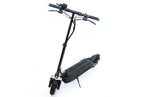 Trotineta electrica SPEEDXMAN 10, Viteza 45 Km/h, Autonomie 55-60 Km, Motor 600 W, Suspensie fata/spate - amortizor, Roti 10inch(Negru)