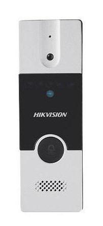 Post videointerfon exterio Hikvision DS-KB2411-IM (Negru/Argintiu) imagine