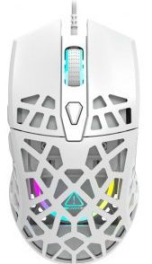 Mouse Gaming Canyon Puncher CND-SGM20W, 12000 DPI (Alb)