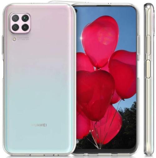 Protectie spate Lemontti Ultra Clear LEMHUCP40LTR pentru Huawei P40 Lite (Transparent)