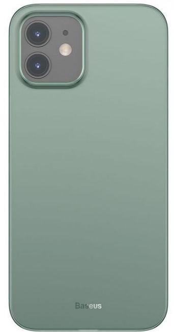 Protectie spate Baseus Wing WIAPIPH54N-06 pentru iPhone 12 Mini (Verde)