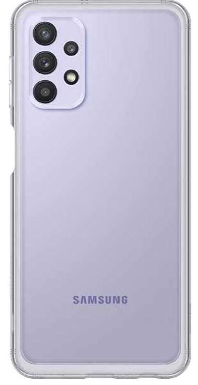 Protectie Spate Samsung Soft Clear Cover EF-QA326TTEGWW pentru Samsung Galaxy A32 5G (Transparent) de la evomag.ro