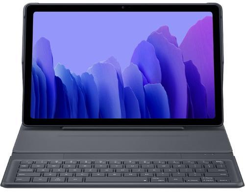 Protectie Book Cover cu tastatura Samsung EF-DT500UJEGEU pentru Samsung Galaxy Tab A7 10.4inch T500/T505 (Gri) imagine evomag.ro 2021