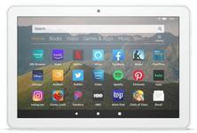 """Tableta Amazon Fire HD 8 (2020), Procesor MediaTek MT8168 Quad Core 2.0GHz, Ecran IPS LCD 8"""", 2GB RAM, 32GB Flash, 2MP, Wi-Fi, Bluetooth, Android (Alb)"""