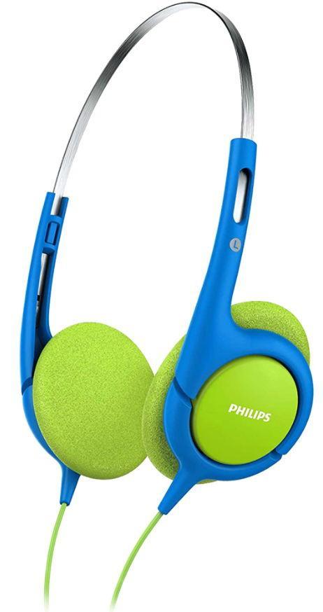 Casti Stereo pentru copii Philips Coolplay SHK1030BL, Drivere neodim 32 mm (Albastru/Galben) imagine evomag.ro 2021