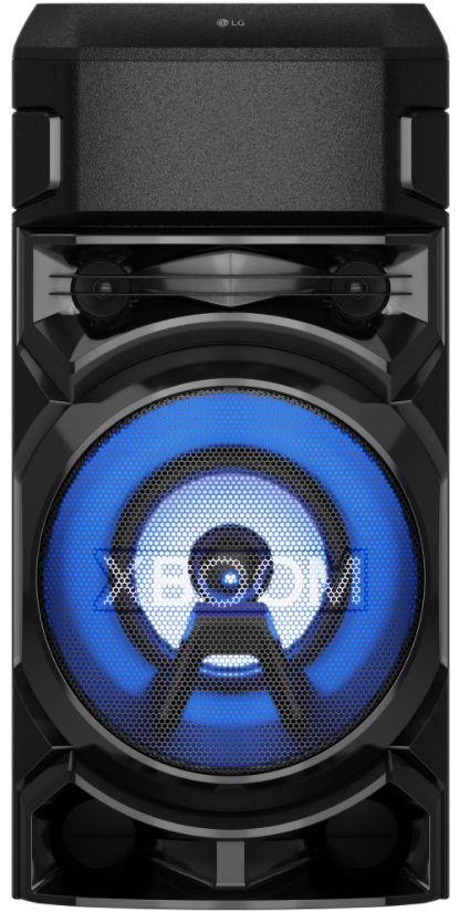 Sistem audio LG XBOOM RN5, Bluetooth, Dual-USB, Radio FM, Karaoke Creator, Party Lighting (Negru)