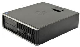 Calculator Sistem PC Refurbished HP 6300 SFF, Intel Core i5-3470 3.20GHz, 8GB DDR3, 240GB SSD, DVD-RW (Negru)