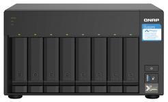 NAS Qnap TS-832PX-4G, 8 Bay-uri, Procesor AnnapurnaLabs Alpine AL324 ARM® Cortex-A57 quad-core 1.7GHz, 4 GB DDR4 (Negru)