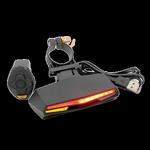 Stop LED spate pentru trotinete electrice, Waterproof IPX4, 85 lumeni