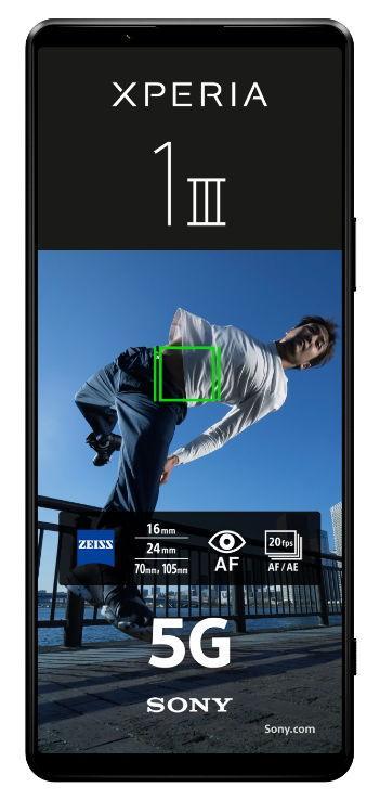 Telefon Mobil Sony Xperia 1 III, Procesor Qualcomm SM8350 Snapdragon 888, OLED Capacitive touchscreen 6.5inch, 12GB RAM, 256GB Flash, Camera Quad 12+12+12+0.3MP, 5G, Wi-Fi, Dual SIM, Android (Negru) de la evomag.ro