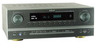 Amplificator Akai AS005RA-750B, 375W RMS, Bluetooth (Argintiu)