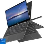"""Ultrabook Asus ZenBook Flip UX564PH-EZ003R (Procesor Intel® Core™ i7-11370H (12M Cache, up to 4.80 GHz, with IPU)  15.6"""" FHD Touch, 16GB, 1TB SSD, nVidia GeForce GTX 1650 @4GB, Win10 Pro, Gri)"""