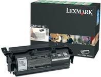 Toner Lexmark X651H11E (Negru - de mare capacitate - program return)
