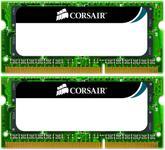 Memorie Laptop Corsair 8192MB 1333MHz ValueSelect Kit (2x4GB)