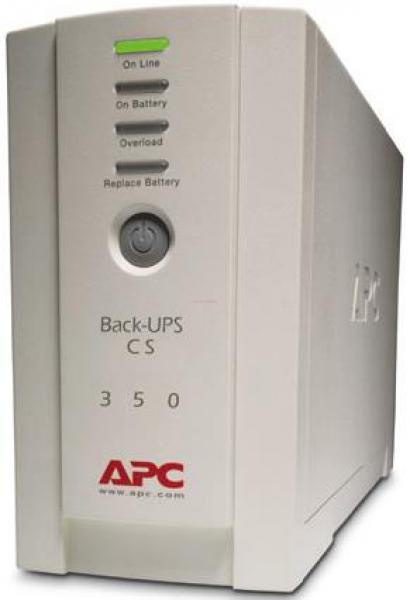 UPS APC Back-UPS BK350EI, 350VA/210W, 4 x IEC 320