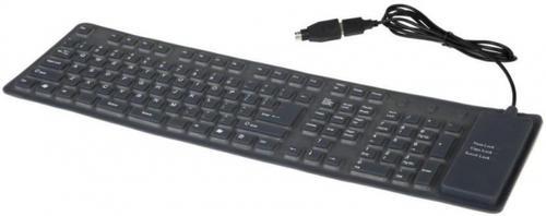 Tastatura Gembird Flexibila KB-109F Waterproof