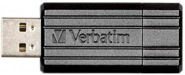 Stick USB Verbatim PinStripe 16GB (Negru)