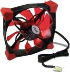 Ventilator Inter-Tech CobaNitrox N-120-R 120mm (LED Rosu)