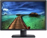 """Monitor IPS LED Dell 24"""" U2412M, Full HD (1920 x 1200), VGA, DVI-D, DisplayPort, 8ms, Pivot (Negru)"""
