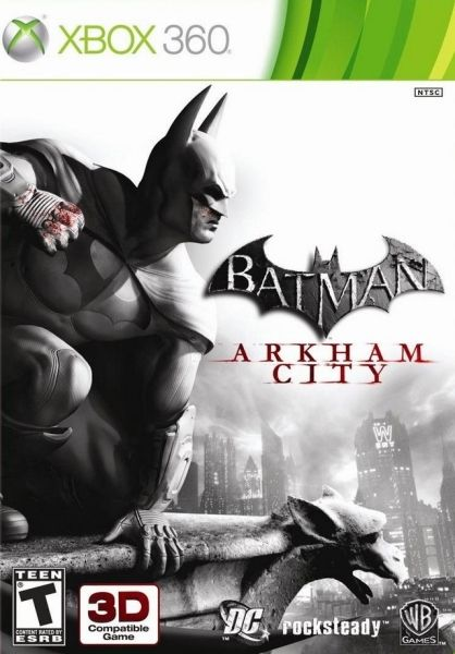 warner bros. interactive entertainment batman arkham city (xbox 360)