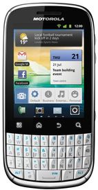 Telefon Mobil Motorola Fire XT311, 600 MHz, Android 2.3.4, TFT capacitive touchscreen 2.8inch, 3.15MP, 256MB (Alb)