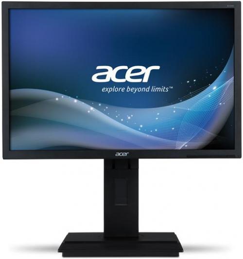 monitor led acer 22inch b226wlymdpr, dvi, vga, displayport, 5ms, boxe (gri inchis)