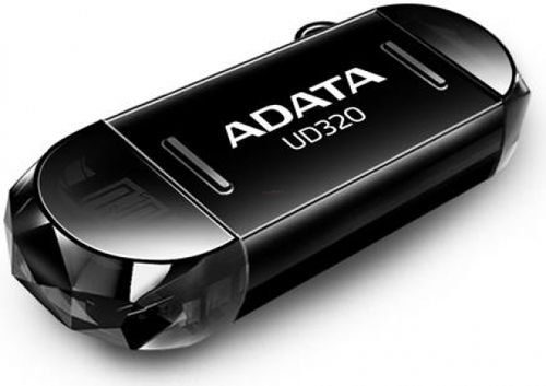 Stick USB A-DATA DashDrive Durable UD320 32GB, microUSB/USB (Negru)