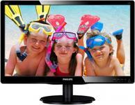 "Monitor LED Philips 22"" 220V4LSB/00, DVI-D, VGA, 5ms (Negru)"