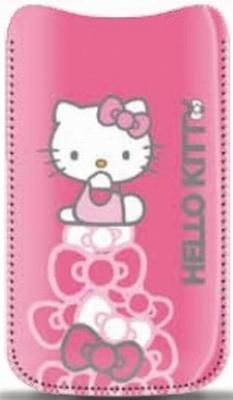 Husa Hello Kitty HKPOPUP2P pentru iPhone 4/4S (Roz)