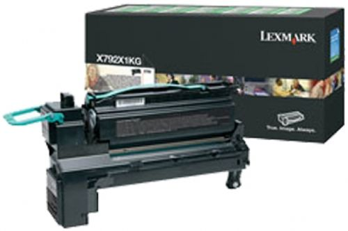 Toner Lexmark X792X1KG (Negru - de mare capacitate - program return)