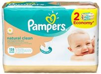 Pampers Servetele umede Naturally Clean Duo 2x64buc