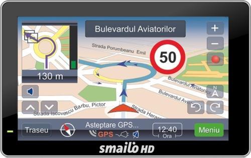 Sistem de Navigatie Smailo HD 5.0, Ecran TFT LCD 5inch, Procesor 800 MHz, Microsoft WinCE 6.0, Fara Harta
