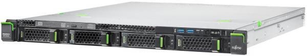 Server Fujitsu PRIMERGY RX1330 M1 (Intel Xeon E3-1220 v3, Haswell, 1x4GB @1600MHz, No HDD, 300W PSU)