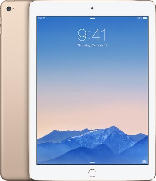 Tableta Apple iPAD AIR 2, Procesor Triple Core 1.5GHz Apple A8X, IPS LCD 9.7inch, 2GB RAM, 16GB Flash, 8 MP, 4G, WI-FI, iOS 8.1 (Auriu)