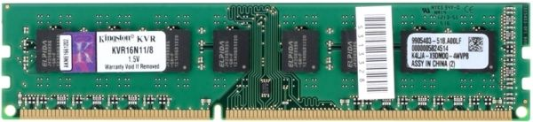 Memorie Kingston DDR3, 1x8GB, 1600MHz