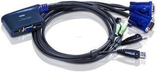 Switch KVM Aten CS62U-A7, 2 porturi, USB