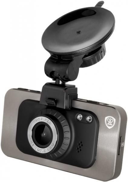 Camera Auto Prestigio RoadRunner 560 cu DVR, GPS, Full HD, TFT 3inch, IR (Argintiu)