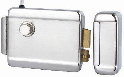 PNI Yala electromagnetica din otel cu butuc H1073A pentru interfoane