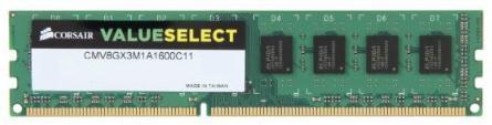 Memorie Corsair Value Select, 1x8GB, 1600 MHz, CL11