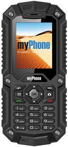 Poza Telefon Mobil myPhone Hammer, Dual Sim, Rezistent la apa si praf (Negru)